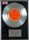 "JOHNNY CASH - 7"" Platinum Disc - A BOY NAMED SUE"